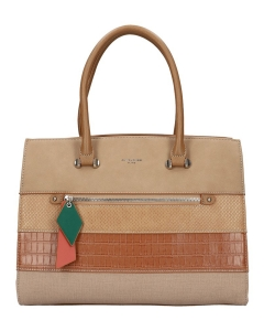 David Jones Handbag 6241-2 CAMEL