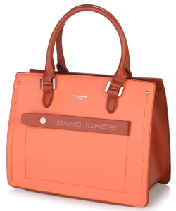 David Jones Satchel Handbag 6247-3 CORAL