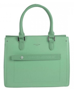 David Jones Satchel Handbag 6247-3 GREEN