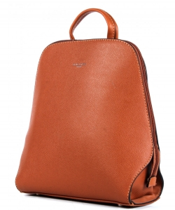 David Jones Backpack 6248-1 COGNAC