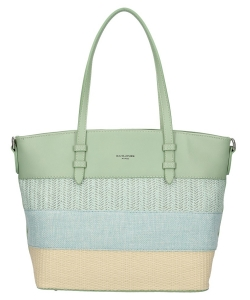 David Jones Handbag 6257-2 LGreen
