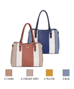10 Packs David Jones Tote Bag 6258-2 Assorted