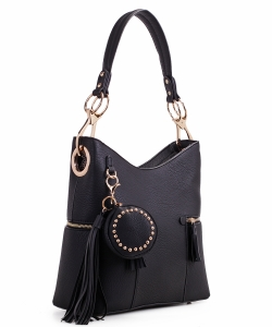 Fashion Bucket satchel 62757 BLACK