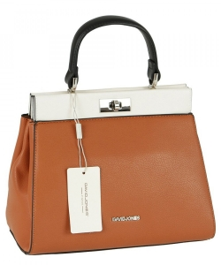 David Jones Handbag 6310-1 Cognac