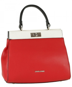David Jones Handbag 6310-1 Red