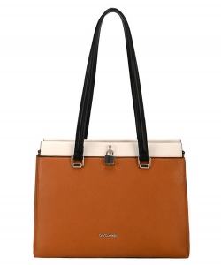 David Jones Handbag 6310-2 Cognac
