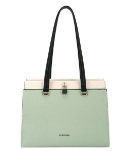 David Jones Handbag 6310-2 PGreen
