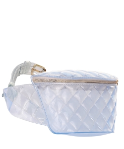 PVC Semi Transparent Fanny Pack 7074 Clear