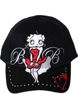 American Favorites 8027 Black Betty Wink  Baseball Cap