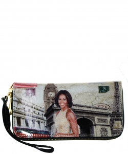 Magazine Fashion wallets 888 APRICOT