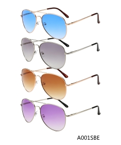 New Fashion Designer Western Sunglasses – A001SBE– 12 pcs/pack