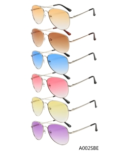 New Fashion Designer Western Sunglasses – A002SBE– 12 pcs/pack