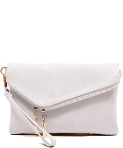 Fashion Crossbody Clutch AD2585 WHITE