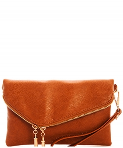 Fashion Crossbody Clutch AD2585 TAN