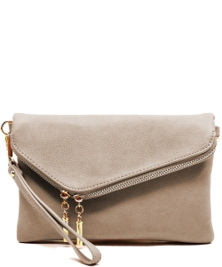 Fashion Crossbody Clutch AD2585 TAUPE