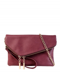Fashion Crossbody Clutch AD2585 Wine