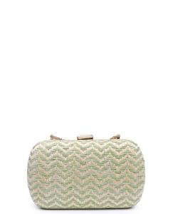 Urban Expressions Adelaide Clutch Bag  MINT