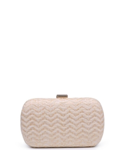 Urban Expressions Adelaide Clutch Bag  NATURAL