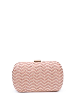 Urban Expressions Adelaide Clutch Bag  ROSE