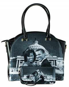The Obamas Handbag Set