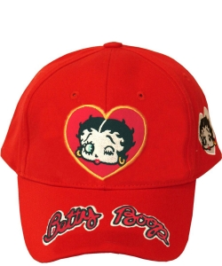 American Favorites BB404A Red Betty Wink  Baseball Cap