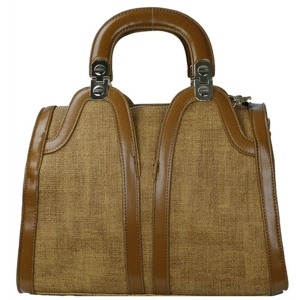 Bora Bora Structured  U-Shaped Handle Handbag BB-414X