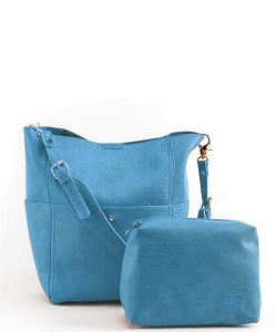 Fashion Hobo Bag BGA-82068 BLUE