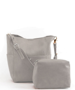 Fashion Shoulder Bag BGA-82068 LGRAY
