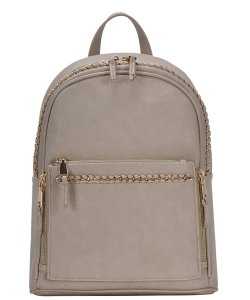 Madison West Jade Backpack BGW-44169 TAUPE