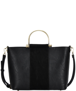 Madison West tote bag comes with a cross-body bag BGW0702 BLACK