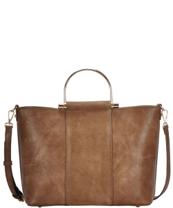Madison West tote bag comes with a cross-body bag BGW0702 TAUPE