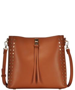 Madison West tote bag comes with a cross-body bag BGW81277 TAN