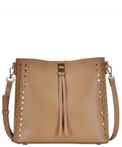 Madison West tote bag comes with a cross-body bag BGW81277 TAUPE