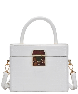 New Fashion Box Cross bodybag BGW81347 WHITE