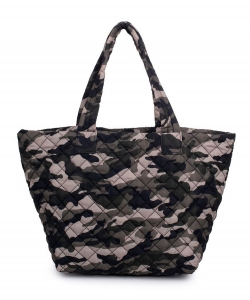 Urban Expressions Breakaway Tote Bag CAMOUFLAGE