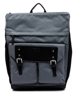 Backpack Polyester Twill fabric BLANC105 BLACK