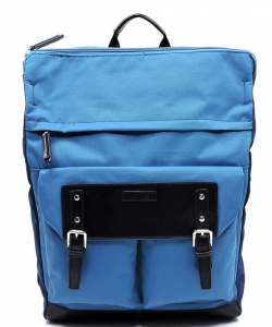 Backpack Polyester Twill fabric BLANC105 BLUE