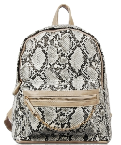 Trendy Fashion Back Pack BP1738 WHITE