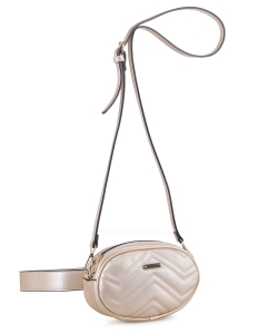 Designer Inspired Covertible Waist Bag Crossbody BS-2244 GOLD