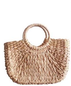 Handmade Women Beach Bag BZ-2 KHAKI