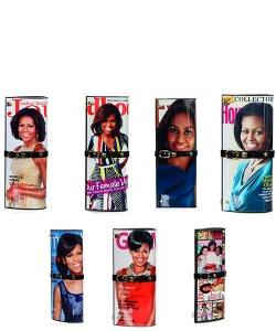 14 PCS  Magazine Clutch Large Size