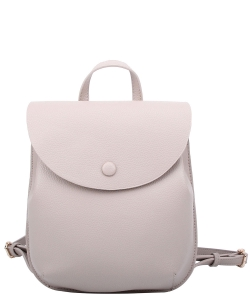 Fashion Flap Convertible Backpack CA108 GRAY
