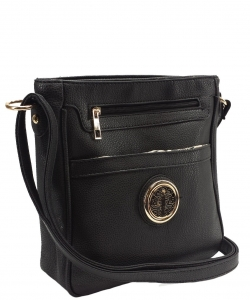 Travelgear Causal Crossbody Bag CA8801 BLACK