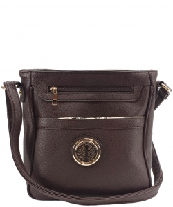 Travelgear Causal Crossbody Bag CA8801 COFFEE