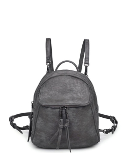Urban Expressions Cali Mini Backpack GUNMETAL