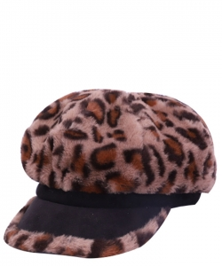 Fur Newsboy Winter Hat CAP00483 BRONZE