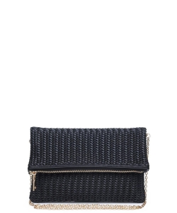 Urban Expressions Carrie Clutch Bag BLACK
