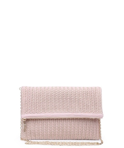 Urban Expressions Carrie Clutch Bag PINK