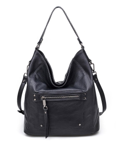Urban Expressions Cayson Hobo Bag BLACK