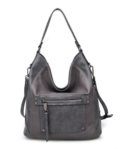 Urban Expressions Cayson Hobo Bag GRAY